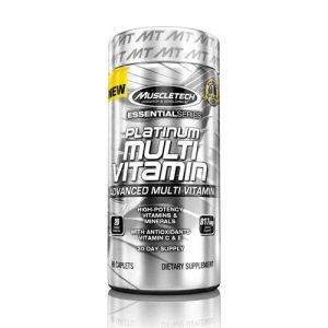 MuscleTech Platinum Multivitamin 90 Capsules on Acacia World