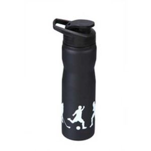 Dark Steel Shaker Bottle