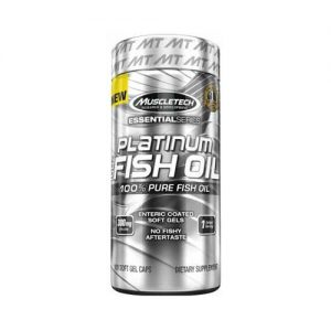 MuscleTech Platinum 100% Fish Oil 100 Softgels on Acacia World