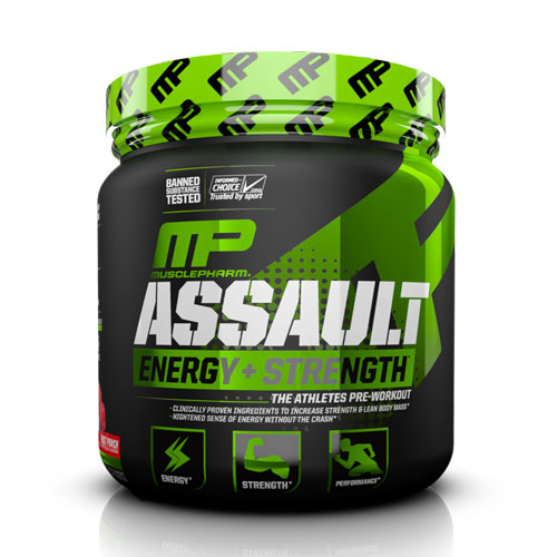 MusclePharm Assault on Acacia World