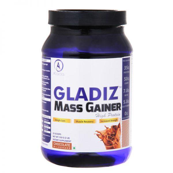 Acacia Gladiz™ Mass Gainer 6.6 Lb Chocolate