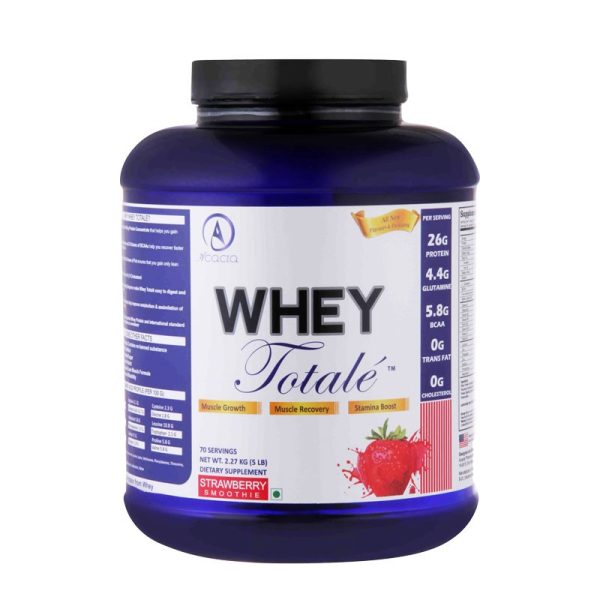 Acacia Whey Totalé™ 5 Lb Strawberry Smoothie