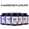 5 Awesome flavours in Whey Totale