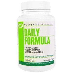 Universal Nutrition Daily Formula Multivitamin 100 Tabs