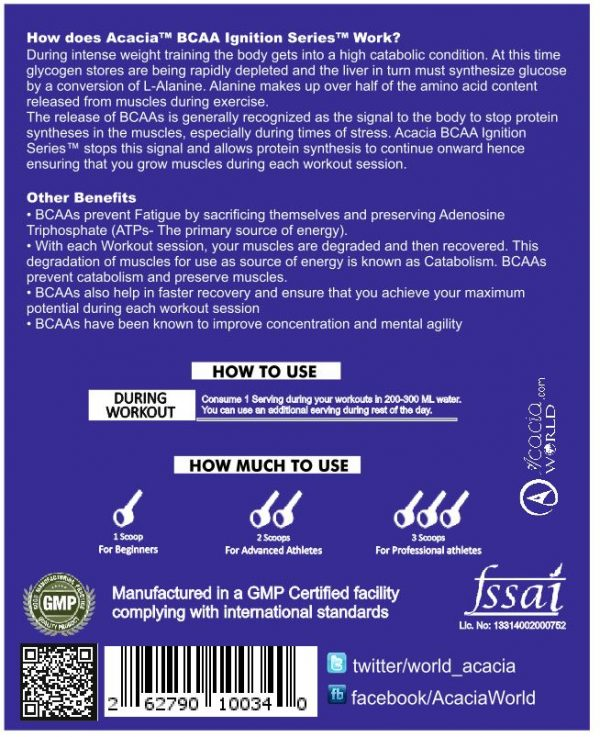 Acacia BCAA Ignition Series™-1177