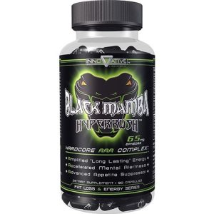 Innovative Labs Black Mamba Fat Burner 100 Caps-0