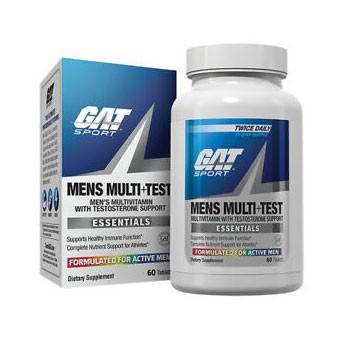 GAT Mens Multi + Test Vitamin - Multivitamins & Testosterone Support-0